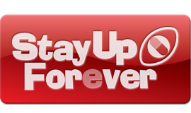 Stay Up Forever logo
