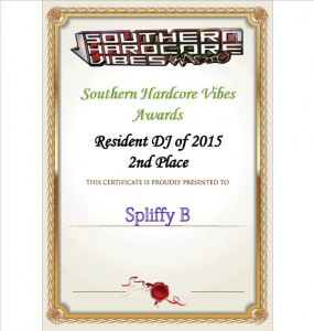 Spliffy B comes 2nd as best Res DJ