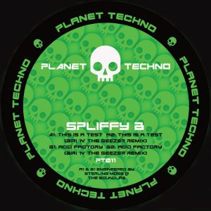 Release: Planet Techno : Spliffy B